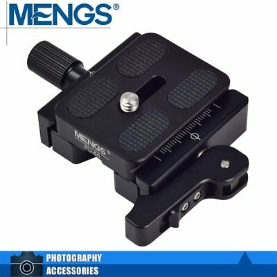 MENGS CL-50L Lever+Screw Combo Duo-Lever Clamp+Quick Release Plate & Arca-Swiss