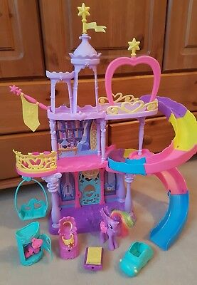 my little pony crystal rainbow castle instructions