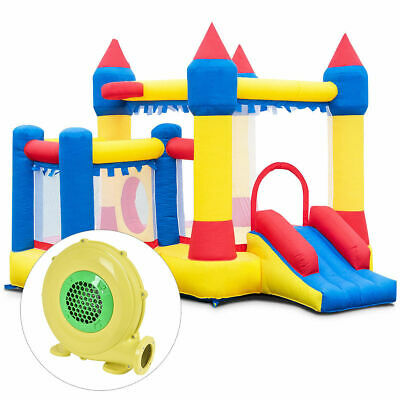 Inflatable Bounce House Castle Commercial Kids Jumper Moonwalk With Ball&Blower