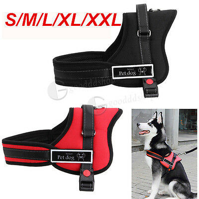 Adjustable Soft Padded Non Pull Dog Harness Vest - Small Medium Large Extra Big