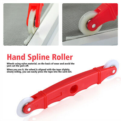 Screen Door Window Installation Hand Spline Roller Rolling Tool Nylon Handle DH