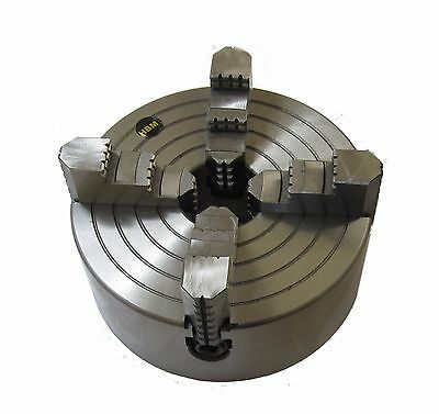 Rdg Tools 200Mm 4 Jaw Independent Lathe Chuck D4 Camlock Fitting Int/ext Jaws
