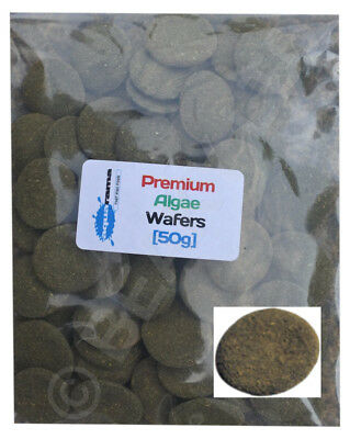 Aquarama PREMIUM Spirulina Algae Wafers Fish Food Pleco Catfish Loach etc [50g]