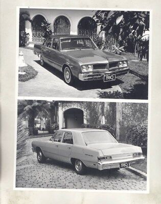 1980 Dodge Brazil LeBaron & Dart Sedan DeLuxo ORIGINAL Factory Photograph wy3664