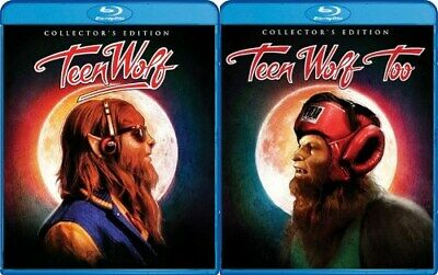 TEEN WOLF & TEEN WOLF TOO New Blu-ray Collector's Editions