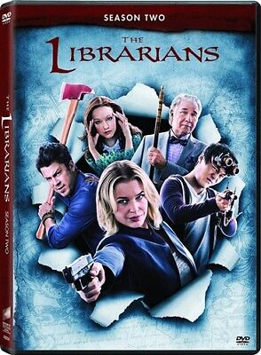 THE LIBRARIANS TV SERIES COMPLETE SEASON TWO 2 New Sealed 3 DVD Set