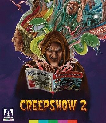 CREEPSHOW 2 New Sealed Blu-ray Special Edition Stephen King George A Romero