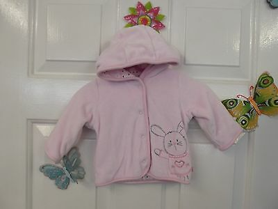 Baby Girl Sweet Pink Warm Hoodie/light Jacket In Size New Born