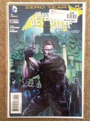 Detective Comics #25 (January 2014, DC) The New 52! 1st Print VF