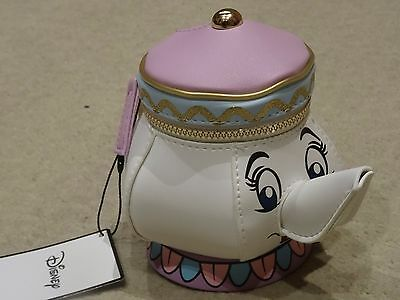 Disney's Beauty And The Beast Mrs Pots Purse New With Tags Primark BNWT