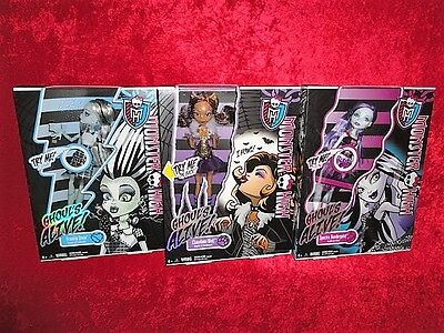 Mattel Monster High Ghoul's Alive! Doll Lot of 3 MIB