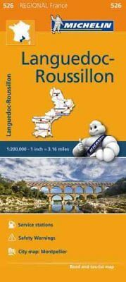 Languedoc Roussillon Map 526 Michelin Regional Maps: France 9782067209404