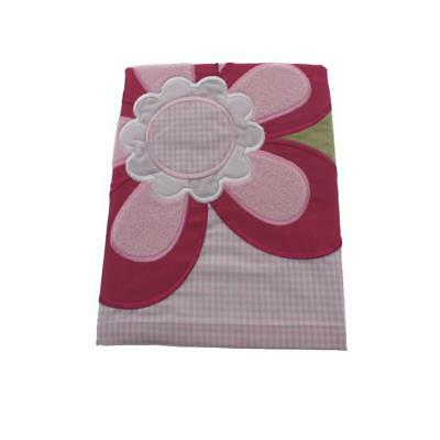 Tiddliwinks 2811 Raspberry Garden Pink Floral Nursery Window Valance BHFO