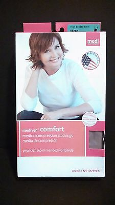 Mediven Comfort Compression Stockings 20-30 III Thigh Closed Toe Natural 18703