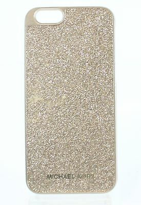 Michael Kors NEW Pale Gold Glitter iPhone 6s Snap On Phone Case $55- #058