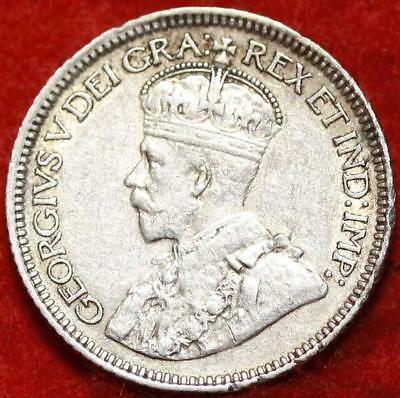 1932 Canada 10 Cents Silver Foreign Coin Free S/H