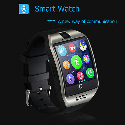 Waterproof Bluetooth Smart Watch Phone Mate Sim Camera For Android iPhone NEW