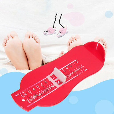 Kid Baby Infant Foot Measure Gauge Shoes Size Measuring Ruler Tool Hne