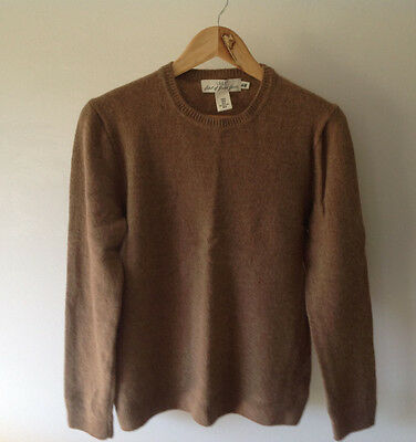 H&M  Men's Brown Sweater Jumper Size M As New
