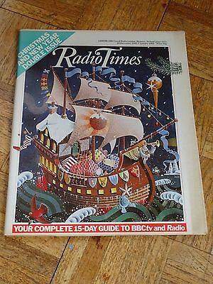 Radio Times Christmas and New Year edition Dec 24th 1982 to Jan 7th 1983
