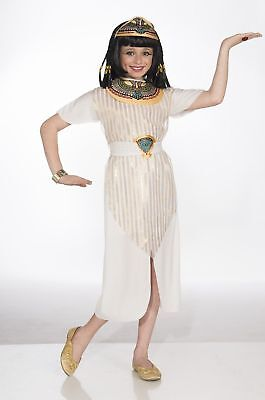 Child Girls Cleopatra Ancient Egyptian Queen Dress Halloween Cute Costume