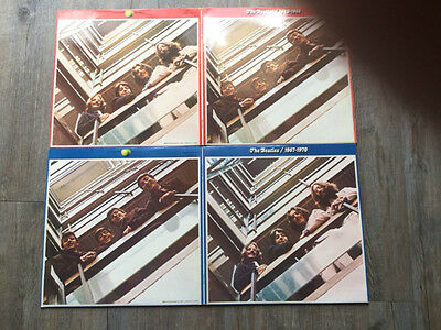 "THE BEATLES - ""1962/1966"" & ""1967/1970"" BEST OF 4 x 12"" VINYL LP'S"
