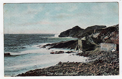 Scotland, Shetland Islands, Lerwick, The Knab, Sea View, 1906
