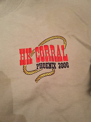 Harmony Kingdom Event Tee Shirt Hk Corral Phoenix 2006 Embroidered Size Lg New