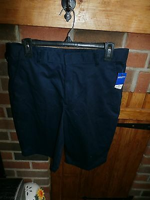Boys School Uniform Shorts Size 18  NEW WITH TAGS
