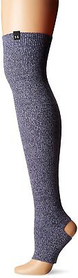 Under Armour Womens Essentials Leg Warmers, Faded Ink/Wild Aster, One Size