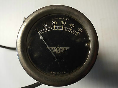 Vintage Voltmeter made by Jewell 50 Volt