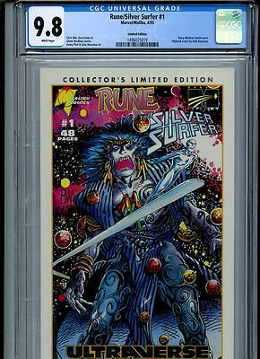 Rune/Silver Surfer #1 (1995) Limited Edition Highest Graded Copy CGC 9.8 NM/MT