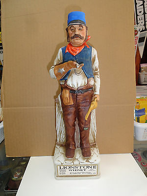 Lionstone  The Railroad Engineer 1969 Decanter
