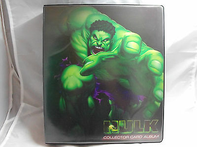 Marvel Hulk Collectors Binder Produced By Cards Inc