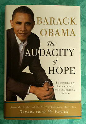 Audacity of Hope Barack Obama-HBDJ 1st Edition 2006 NM Condition