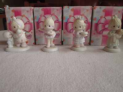 Precious Moments Little Moments - Lot of 4