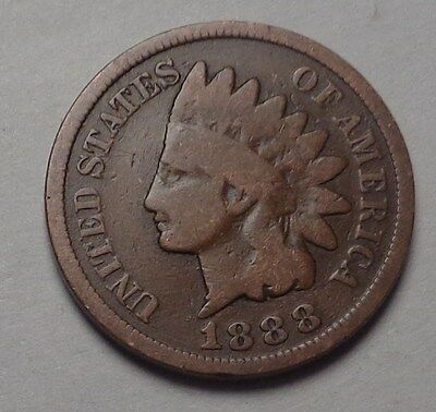 1888 Indian Head Cent,nice Coin!!!(T)