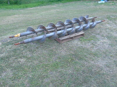 Steel AUGER, Fence Post Hole Digger, Pole, Horizontal Boring Machine