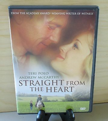 Straight From the Heart (DVD, 2002) Andrew McCarthy OOP ** No Scratches **