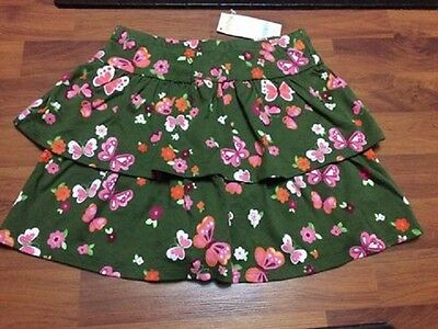 Gymboree BUTTERFLY GIRL Size 7 Skort NWT ~ New With Tags!