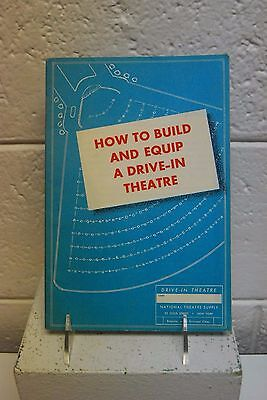 """National Theatre Supply booklet """"How to Build and Equip a Drive In Theatre"""""""
