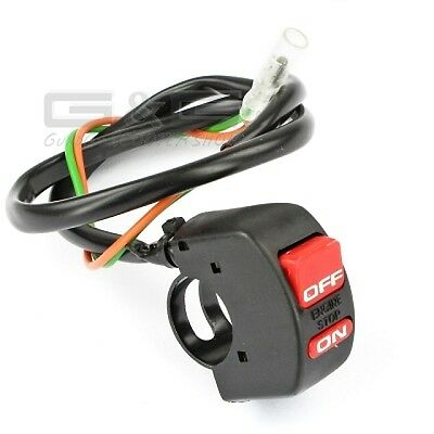Ignition Interrupter Kill Switch On-Off Motorcycle Motorbike Scooter Quad ATV