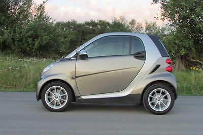 Smart smart fortwo coupe softouch limited silver micro