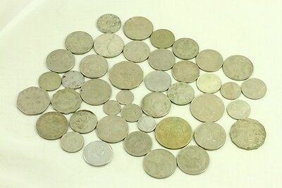 Mixed Lot Vintage Foreign Coins Currency Mexico Phillipines Hong Kong Australia