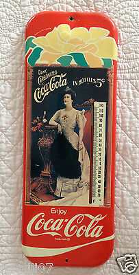 Vintage 1981 Enjoy Coca-Cola Thermometer