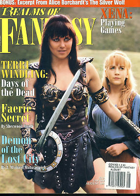 Realms of Fantasy magazine XENA Terri Windling Days of the Dead ref100615