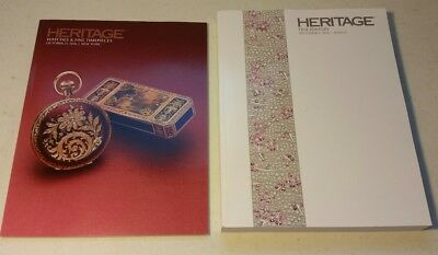 Heritage Auction Catalogs 2016 -- Watches & Fine Jewelry -- FREE SHIPPING