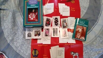 SALE!!! Buckland's Complete Gypsy Fortuneteller Box Set 1989