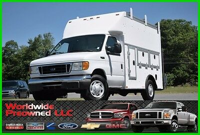 2005 Ford E-Series Van E-350 E350 XL Enclosed Utility Van 5.4L Triton Gas 2005 Ford E-350 E350 XL Enclosed Utility Van 5.4L Triton Gas Workport Used Work