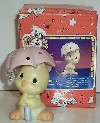 Precious Moments Holy Tweet Item # BC972, 1990 Members Only Figurine